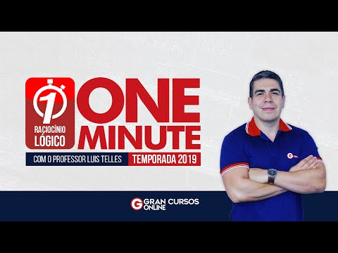 Raciocínio Lógico FCC - One Minute
