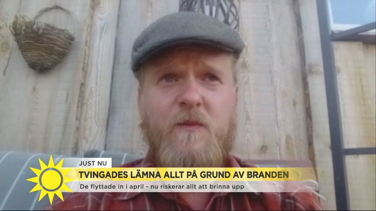 De flyttade in i april - nu riskeras allt brinnas upp - Nyhetsmorgon (TV4)