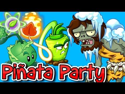 Plants vs. Zombies 2 -Time Twister   IceBlocks  Wasabi Whip Piñata Party
