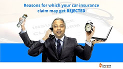 Reasons for which your car insurance claim may get rejected