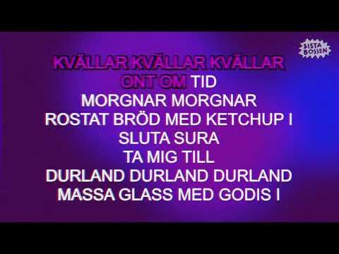 Sista Bossen - Kvällar  (Karaoke) (Official Music Video)