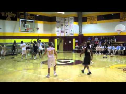 Corey Nelson #20 Basketball Rebounds (Grace Chattanooga, TN)