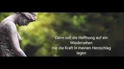 "Katharina Klutz ""Einmal sehen wir uns wieder"" cover lyrics Andreas Gabalier"