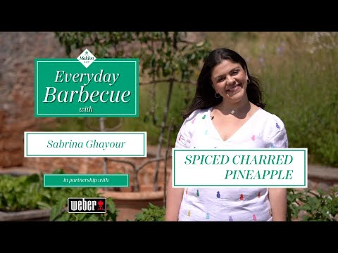BBQ Spiced Charred Pineapple - Everyday BBQ