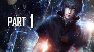 Final Fantasy 15 Walkthrough Demo Part 1 - Episode Duscae (FFXV PS4 Gameplay Commentary)