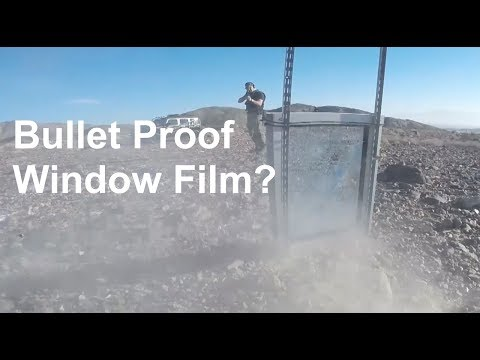 Truth About Bullet Proof Window Film | Brad Campbell