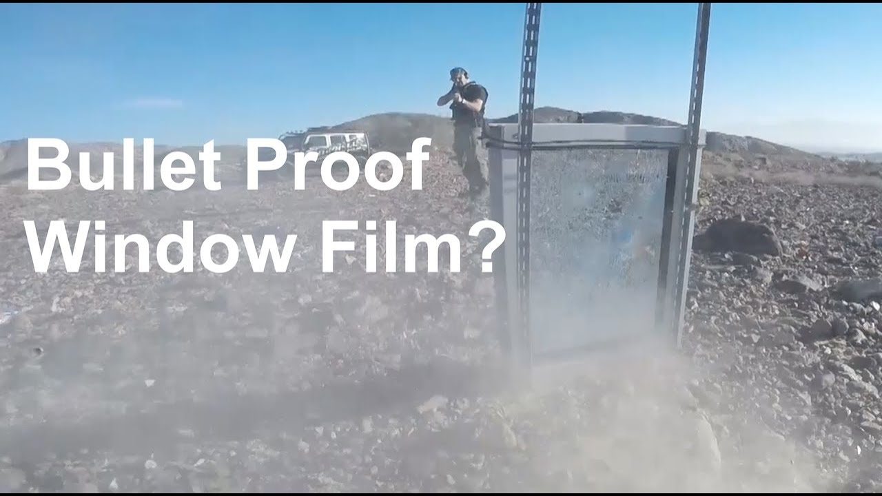 Bullet Proof Windows >> Truth About Bullet Proof Window Film Brad Campbell Youtube