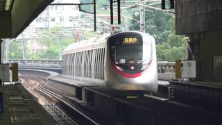 MTR EWL C-train (1141A EMU) test run @ Che Kung Temple (4)