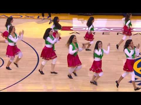 Halftime Show NDA goes to NBA- Niosha Dance Academy