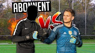 Goalkeeper Battle vs. SUBSCRIBER