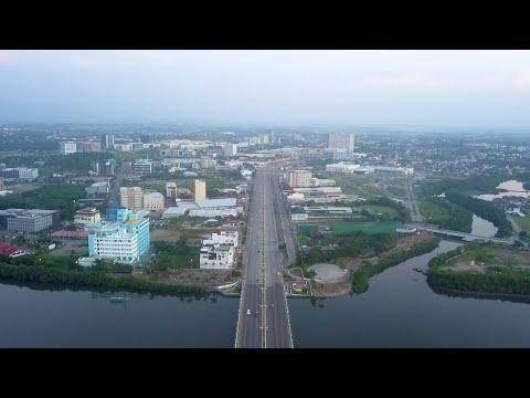 Iloilo City 2019 Diversion Road  - Drone fly by