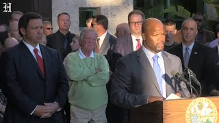 Florida Governor Ron DeSantis suspends BSO sheriff Scott Israel, and replaces him with Gregory Tony