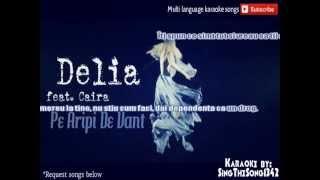 Delia feat  Kaira - Pe Aripi De Vant Karaoke
