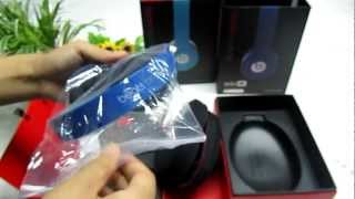 Beats By Dr. Dre SOLO HD Dark Blue On-ear Headphones -Got from Refly-DHgate.com