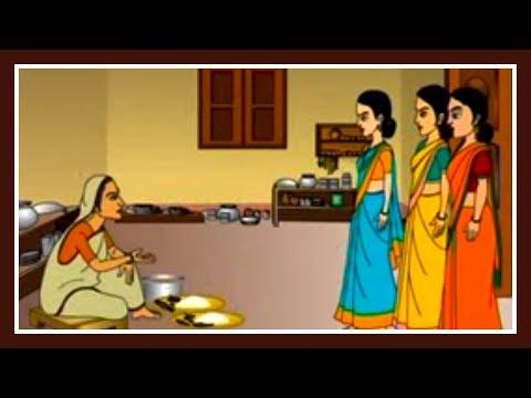 Sonsari Bou   Bengali Cartoon Video Story For Kids   Bangla Cartoon   Cartoon For Kids   Part 2