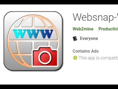 Websnap-Web Capture Web Widget Installation, Set-Up and Full Review
