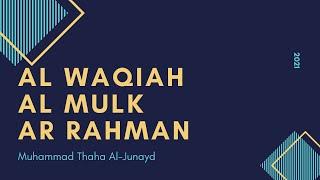 Download lagu Al Waqiah | Al Mulk | Ar Rahman