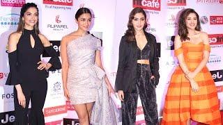 HT Most Stylish Awards 2017 Full Video Hd Red Carpet - Deepika,Alia,Anushka,Parineeti
