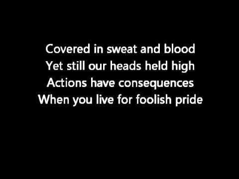 atreyu honor lyrics HQ
