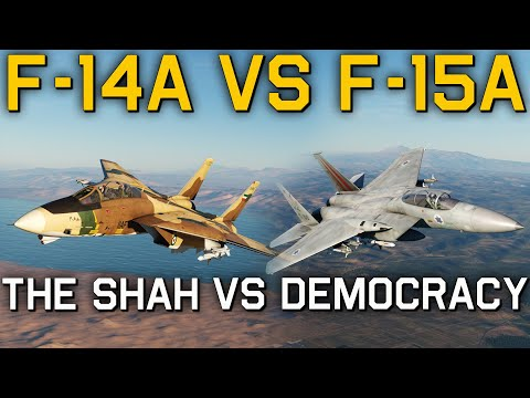 Why Did Israel Choose The F-15 Eagle And Iran The F-14A Tomcat?