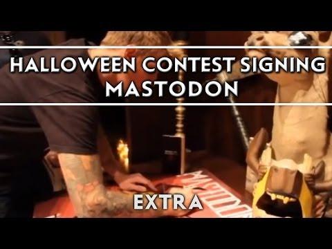 Mastodon - Halloween Contest Signing [Extra] Thumbnail image