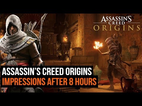 Assassin S Creed Origins Impressions After 8 Hours Of Gameplay