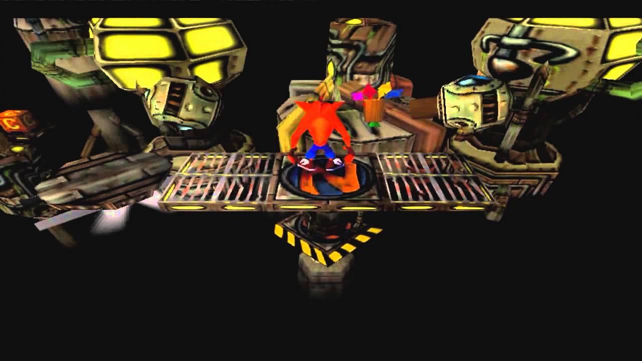 Crash Bandicoot Generator Room Orange Gem Youtube