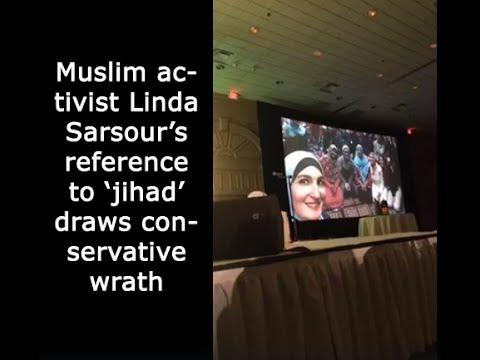 Muslim activist Linda Sarsour's reference  to 'jihad' draws conservative wrath