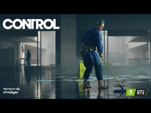 Control - Nvidia RTX Demo Showcase - PEGI