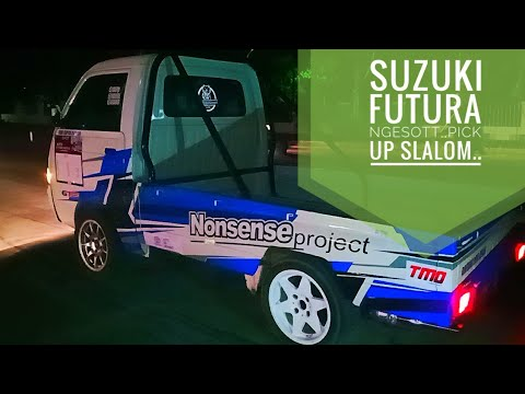 Slalom Pick Up Suzuki Futura Youtube