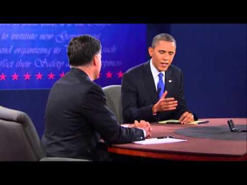 Romney, Obama Spar Over Military Spending
