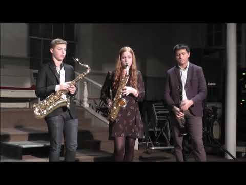 Friends Seminary Upper School Jazz Band Performance