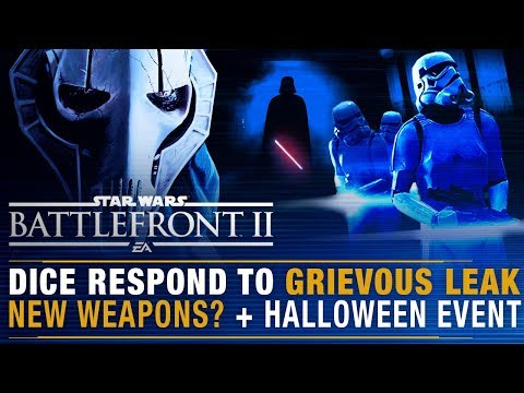 DICE Respond to Grievous Leak + Are New Weapons Coming? + Halloween Event | Battlefront Update