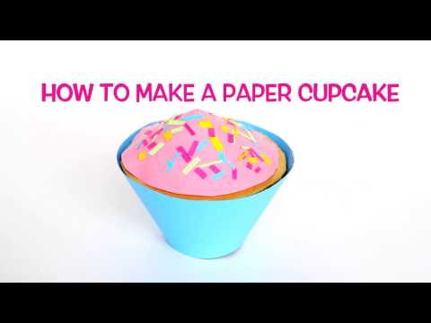 How to Make a Paper Cupcake