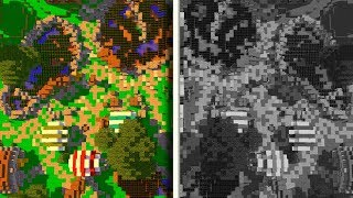 How Colorblind People See Minecraft