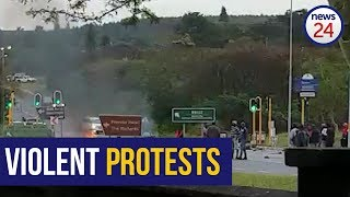 WATCH   Protesters block road in Richard's Bay
