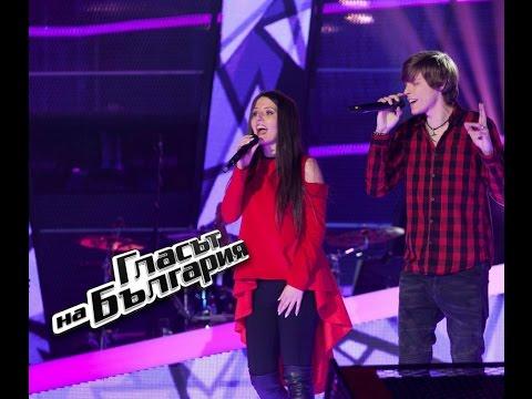 Десислава и Деян - Say Something - Гласът на България 4 – Кастинги (09.04.2017)