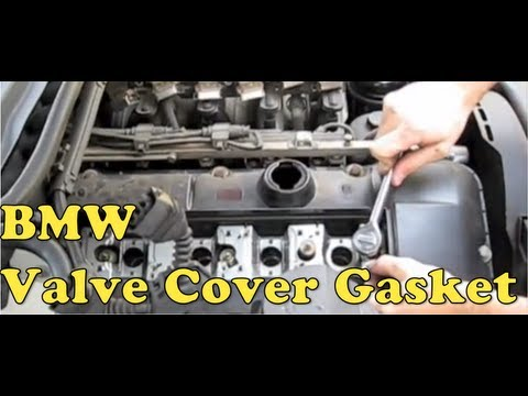 BMW Valve Cover Gasket Replacement (E90, E39, E46, E36