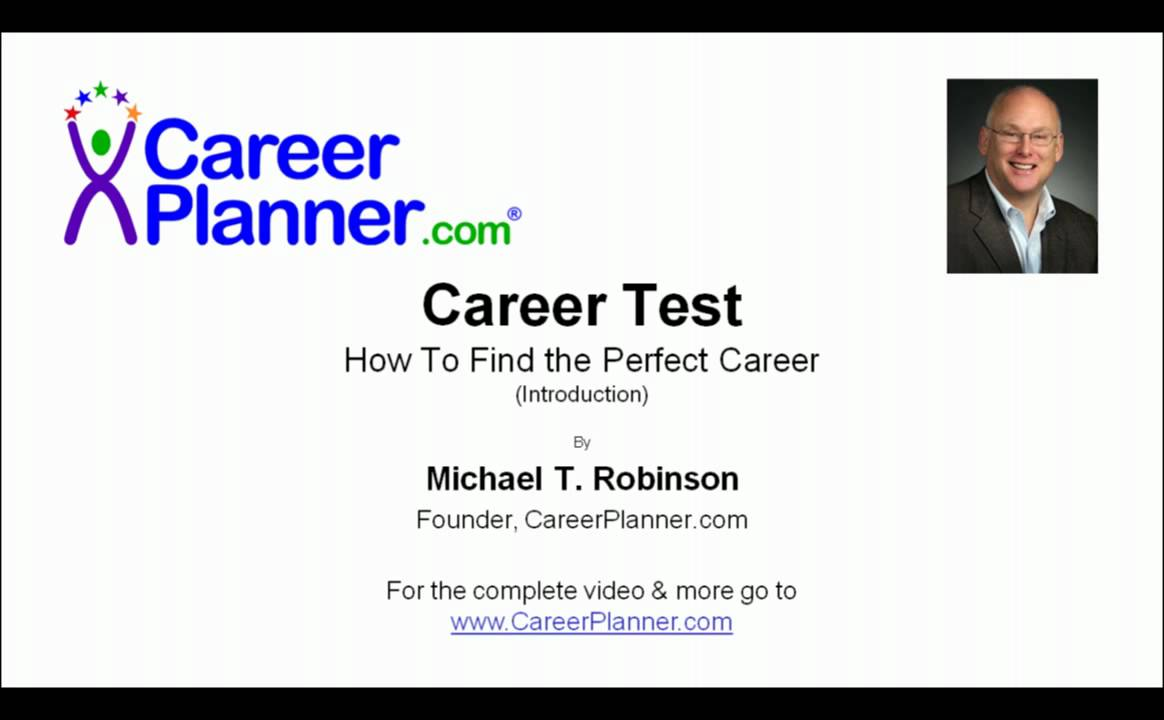 career test video how to the perfect career career test video how to the perfect career