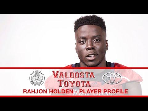 Rahjon Holden - Brooks County High School Football