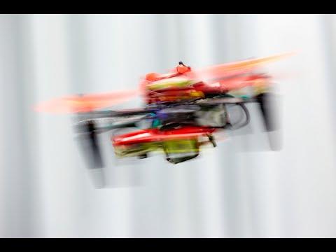 Autonomous Quadrotor Flight despite Rotor Failure with Onboard Vision Sensors: Frames vs Events