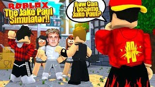ROBLOX - THE JAKE PAUL SIMULATOR!!