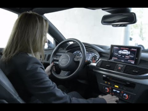 audi a7 driverless car amazing video commercial 2014 carjam tv google self driving car youtube. Black Bedroom Furniture Sets. Home Design Ideas