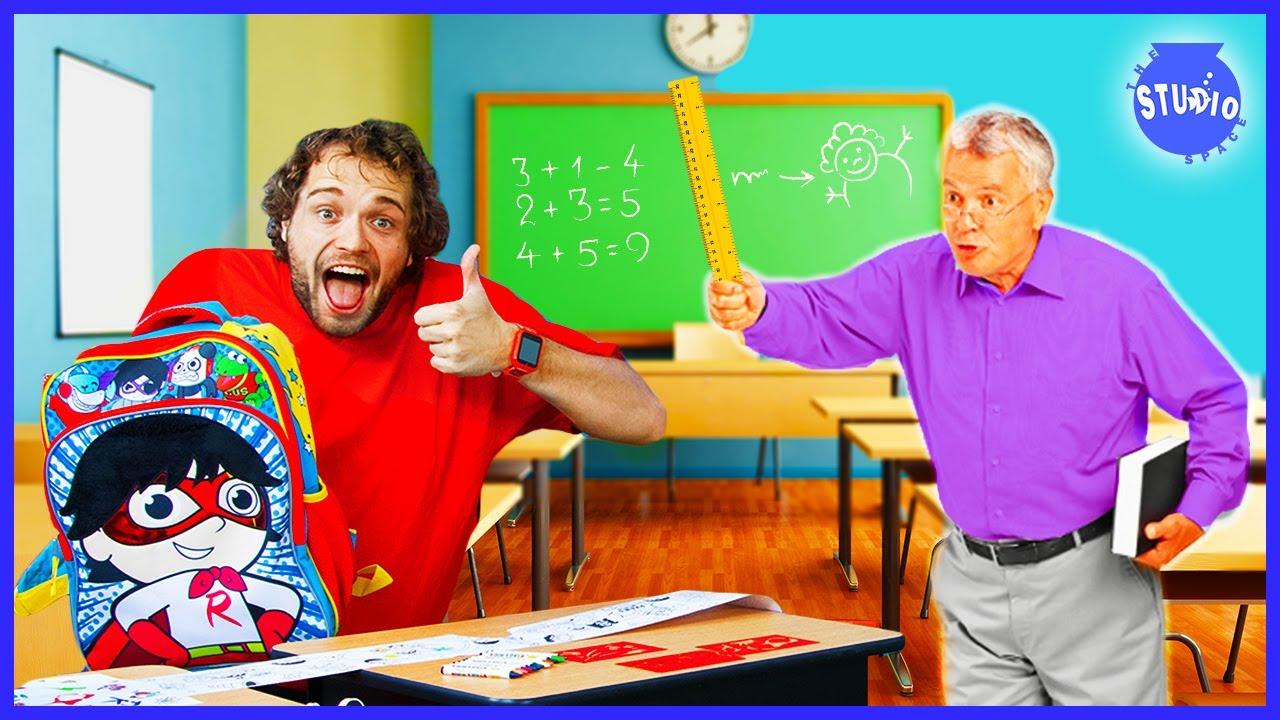 Back to School *NEW* Ryan's World School Supplies!
