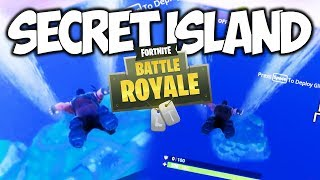 SECRET ISLAND IN FORTNITE!!