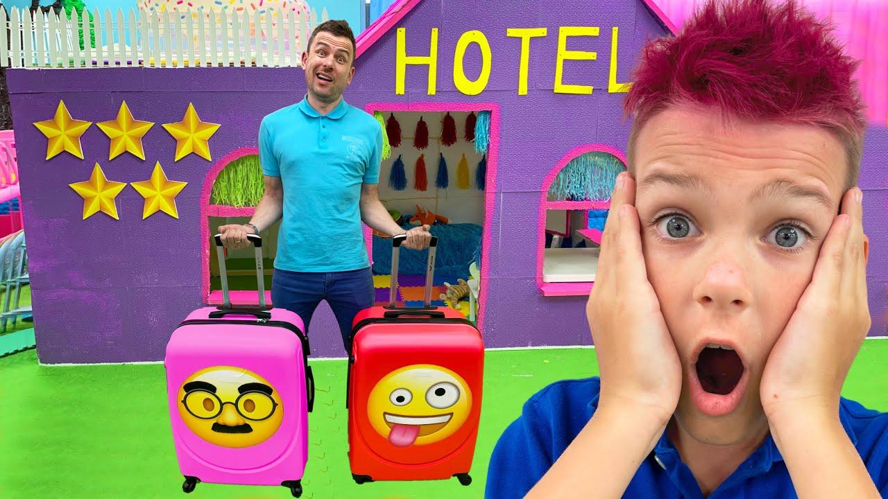 Five Kids Hotel Song Nursery Rhymes