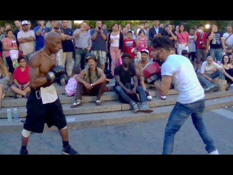 ADAM SALEH'S STREET BOXING MATCH!!!