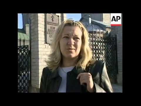 RUSSIA: KURSK SUBMARINE DISASTER: DAY OF MOURNING