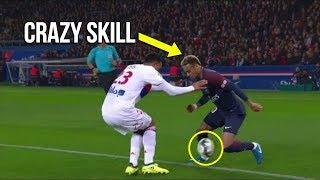 Neymar destroying lyon with crazy skills (psg vs lyon)