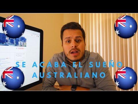 SE ACABA EL SUEÑO AUSTRALIANO- Cambio en Visas y Sueldos